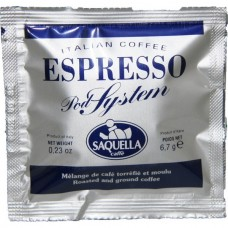 Saquella Coffee Pods Single (1 x 150)
