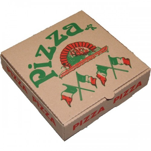"12"" Brown Pizza Box (1 x 100)"