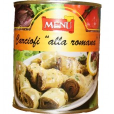 Artichokes alla Romana in Oil *Menu* (1 x 800g)