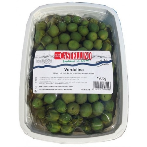 Sicilian Sweet Olive with Stone (1 x 1.9kg)
