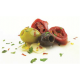 Pitted Black & Green Olive with Chilli in Oil (1 x 1.9kg)