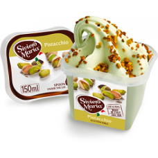 Italian *Pistacchio* Mini Portion Gelato (12 x 150ml)