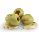 Pitted Green Olive with Garlic in Oil (1 x 1.9kg)